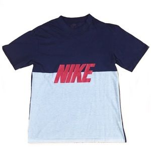 Vintage Nike Two Tone Spellout Shirt